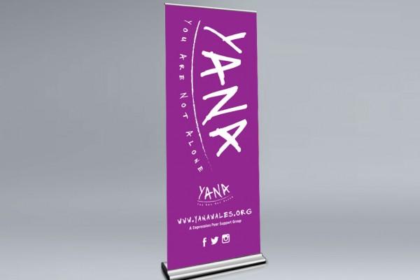 YANA - Pop-up Banner